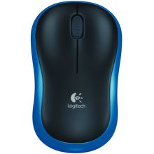 LOGITECH Wireless Mouse M185 Blue, 910-002239