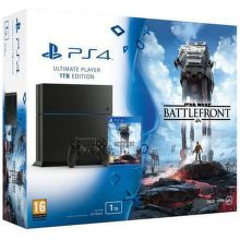 SONY PlayStation 4 1TB Black + Star Wars Battlefront CZ