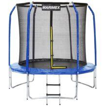 Marimex Trampolína 244 cm + ochranná sieť + rebrík