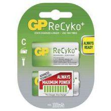GP B0832 ReCyko+ - mono C (R14) 3 000mAh, 2 ks