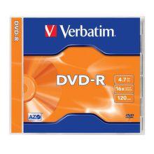 VERBATIM DVD-R 4,7GB 16x jewel