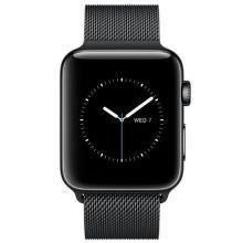 Apple Watch Series 2 42mm (vesmírne čierna nerezová oceľ / vesmírne čierny milánsky ťah)