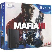Sony PlayStation 4 1TB (čierna) + Mafia 3