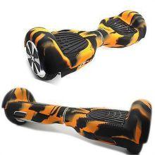 BSMART návlek na hoverboard (oranžovo-čierny)