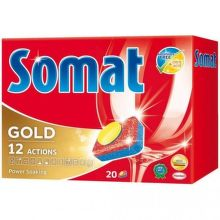 SOMAT GOLD 20, tablety do umývačky riadu