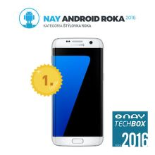 Samsung Galaxy S7 edge (biely)