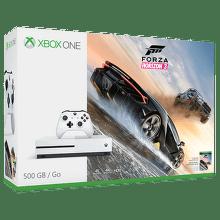 Microsoft Xbox One S 500 GB (biela)+Forza Horizon 3