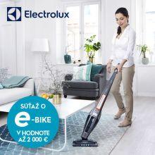 Náhradná batéria ako darček k vysávačom Electrolux a súťaž o e-bike