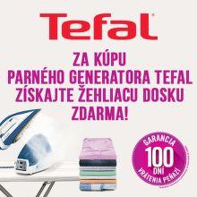 Darček k parným generátorom Tefal
