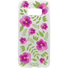 Mobilnet kvety gumené puzdro na Samsung Galaxy S8