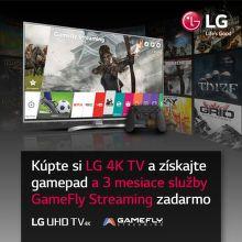 Darčeky k 4K UHD televízorom LG