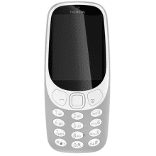 Nokia 3310 Dual SIM šedý