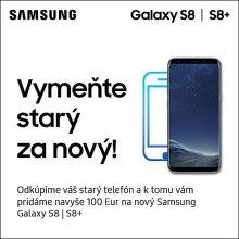 Získajte za starý telefón bonus na nákup Samsung Galaxy S8