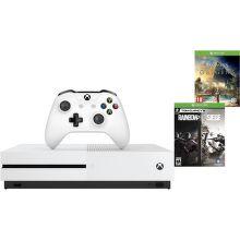 Microsoft Xbox One S 1 TB biely + Assassin's creed: Origins a Tom Clancys Rainbow 6: Siege