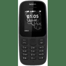 NOKIA 105 2017 Dual SIM čierny