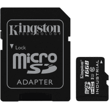 Kingston Industrial Temp micro SDHC 16GB 90 MB/s UHS-I Class 10