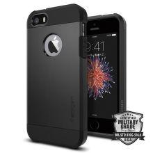 SPIGEN iPhone 5/5S/SE Case Tough Armor, čierna