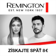 Cashback 8 € na produkty Remington