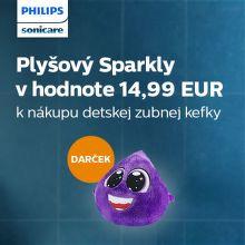 Darček k zubnej kefke Philips Sonicare