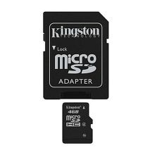 KINGSTON 4GB MIKRO SDHC Card Class 4