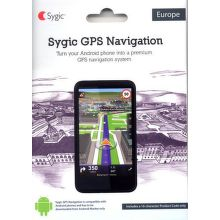 SYGIC GPS navigation LifeTime + HUD (Head Up Displej)