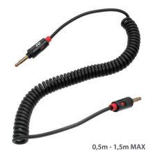 Mobilnet AUX kábel 3.5mm jack (čierny)