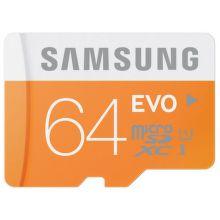SAMSUNG 64 GB Mikro SDXC EVO Class 10