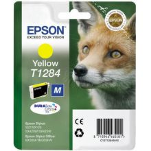 EPSON T1284 M yellow (líška) - atrament