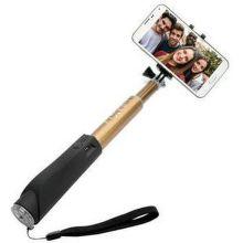 Fixed Selfie tyčka s Bluetooth (zlatá)
