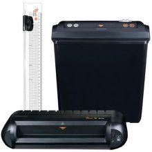 Peach PBP200, 3in1 Office Kit - skartovač, laminátor, rezačka