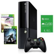 Xbox 360 500GB + Forza 2 + Halo 4 + Live 1m