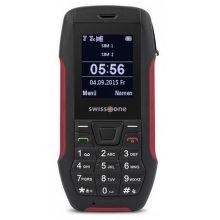 Swisstone SX567 Dual SIM (čierno-červený)