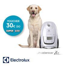 Poukaz na nákup v SUPER ZOO k vysávačom Electrolux