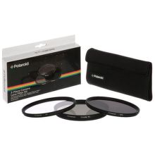 Polaroid 58mm UV MC, CPL, ND9 Filter kit 3ks