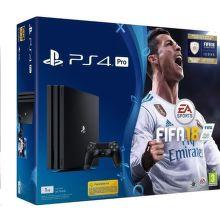 Sony PlayStation 4 Pro 1TB čierny + FIFA18 + PS Plus 14 dní
