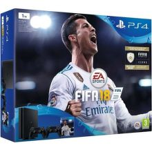 Sony PlayStation 4 Slim 1TB čierny + DualShock 4 + FIFA18 + PS Plus 14 dní