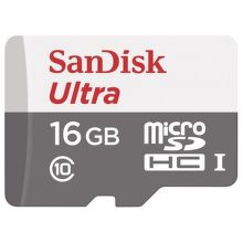 Sandisk Ultra microSDHC 16 GB Class 10 UHS-I