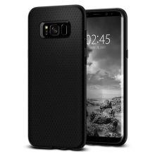 SPIGEN Galaxy S8 Case Liquid Air Armor, čierna