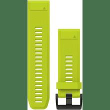 GARMIN QuickFit 26mm silikónový remienok pre Fénix 3/5X, žltá