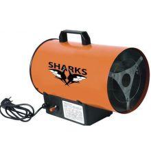 SHARKS 10S Plynová teplovzdušná turbína