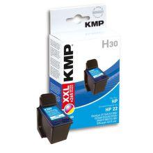 KMP H30 komp. recykl. náplň C9352AE