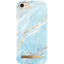 iDeal of Sweden Fashion puzdro pre iPhone 8/7/6S, Tyrkys marble