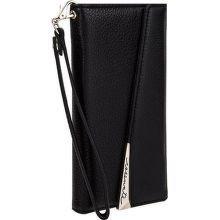 Case-Mate Leather Wristlet puzdro pre iPhone 8/7/6S, čierna