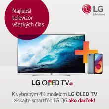 Smartfón ako darček k TV LG