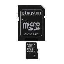 KINGSTON 8GB MIKRO SDHC Card Class 4