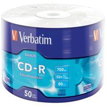 VERBATIM CD-R DL 50 celofán 700 MB 43728
