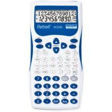 REBELL SC2040 BL vedecká kalkulačka, bielo-modrá