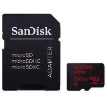 SanDisk Ultra microSDXC 200 GB 90 MB/s