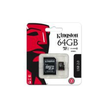 Kingston 64 GB Micro-SDXC UHS-I Class 10