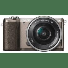 Sony Alpha 5100 + 16–50 mm F3,5–5,6 OSS (hnedý)